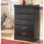 Signature Design by Ashley® Huey Vineyard 5-Drawer Chest