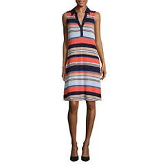 Spense Sleeveless Shift Dress