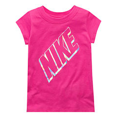 Nike Graphic T-Shirt-Preschool Girls