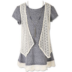 Speechless Tunic Top - Big Kid Girls