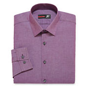 JF J. Ferrar® Long-Sleeve Stretch Cotton Dress Shirt