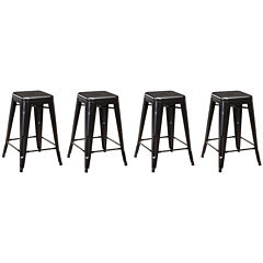 Signature Design by Ashley® Pinnadel Set of 4 Barstools
