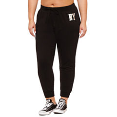 Flirtitude NY Jogger Pant- Juniors Plus