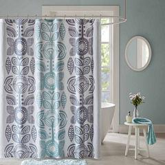 Urban Habitat Teo Cotton Shower Curtain