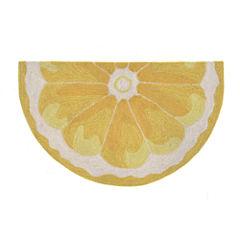 Liora Manne Frontporch Lemon Slice Hand Tufted Wedge Rugs