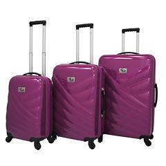 Chariot Travelware Veneto 3-pc. Hardside Luggage Set