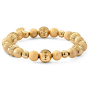 Monet® Gold-Tone Beaded Stretch Bracelet