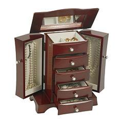 Mele & Co. Bette Wooden Jewelry Box