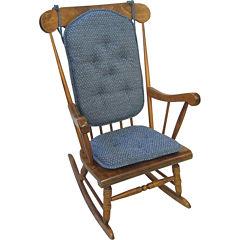 Klear Vu Raindrops Gripper® 2-pc. Rocker Chair Cushion Set