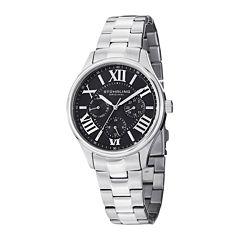 Stührling® Original Womens Stainless Steel Bracelet Watch