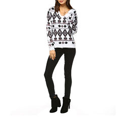 White Mark Traditional Pullover Sweater