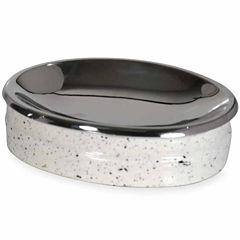Scribble Spatterware Soap Dish