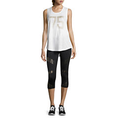 Xersion Studio Graphic Muscle Tank or Graphic Capri
