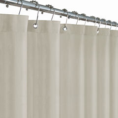 Maytex Mills Herringbone Woven Shower Curtain Liner