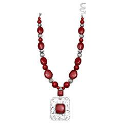 Mixit Womens Pendant Necklace