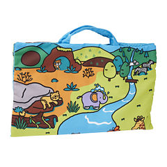 Melissa & Doug® Take-Along Wild Safari Play Mat
