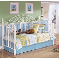 Signature Design by Ashley® Exquisite Metal Day Bed with Deck