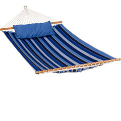 11-Foot Sunbrella Quilted With Pillow 2-Pc. Set Hammock