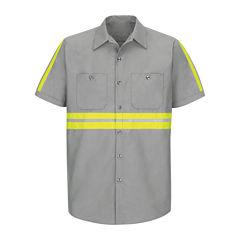 Red Kap® Short-Sleeve Visibility Shirt