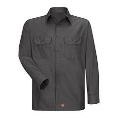 Red Kap® Long-Sleeve Solid Ripstop Shirt