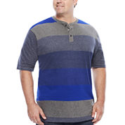 Lee® Short-Sleeve Engineer Henley Tee - Big & Tall