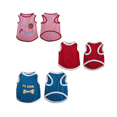 Iconic Pet 3-pk. Assorted Tank Tops