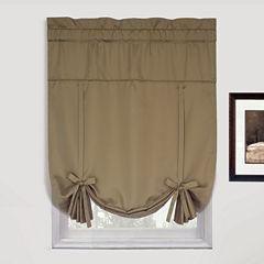 United Curtain Co. Metro Rod-Pocket Tie-Up Curtain Panel