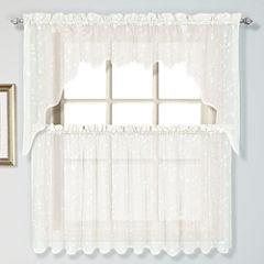 United Curtain Co Savannah Rod-Pocket Swag Valance