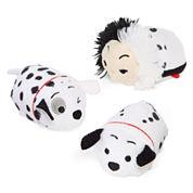 Disney Collection 101 Dalmatians Small Tsum Tsum Plush Toys