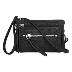 Arizona Triple Zip Crossbody Bag