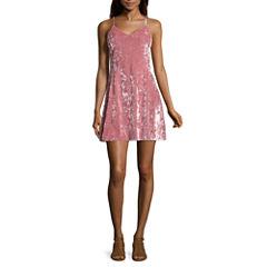 Arizona Sleeveless Slip Dress-Juniors