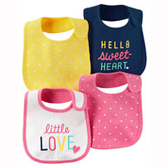 Carter's Girls 4-pc. Bib