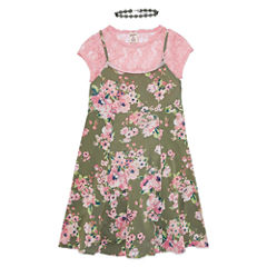 Arizona Floral Slip Dress - Girls' 7-16