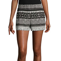 by&by Woven Soft Shorts-Juniors