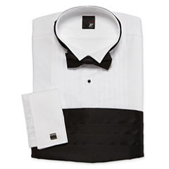 JF J. Ferrar® Tuxedo Shirt Set