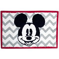 Disney Chevron Mickey Mouse Bath Rug