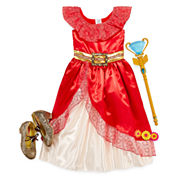Disney Collection Elena Costume, Shoes or Scepter
