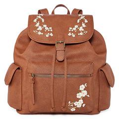 Arizona Embroidered Flap Backpack