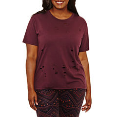 Arizona Short Sleeve Burnout Destructive  T-Shirt