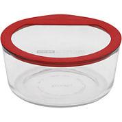 Pyrex® 7-cup No-Leak Glass Food Storage Dish