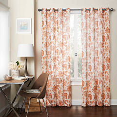 Eclipse Wythe Rod-Pocket Sheer Curtain Panel