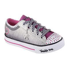 Skechers® Shuffles Charmingly Girls Sneakers - Little Kids