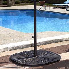 30-lb Resin Umbrella Base Weights in Bronze