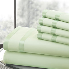 Pacific Coast Textiles Double Satin Band 1000tc Sheet Set