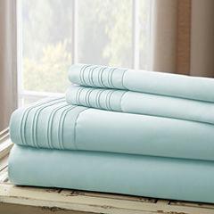 Pacific Coast Textiles Pleated Hem Sheet Set 1000tc Sheet Set