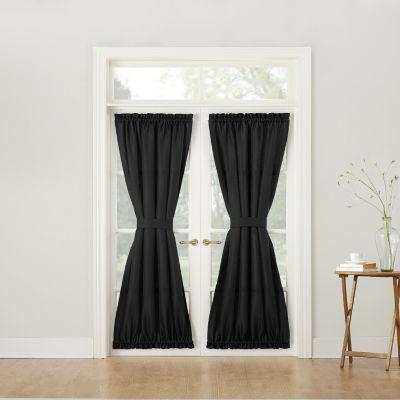 Montego Rod Pocket Door Panel Curtain