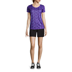Made for Life™ Short-Sleeve Quick-Dri Tee or Mesh Shorts - Petite