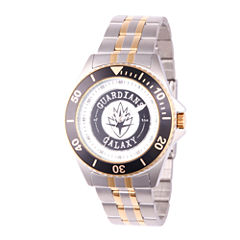 Guardian Of The Galaxy Marvel Mens Two Tone Strap Watch-Wma000121