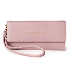 Adrienne Vittadini   Phone Wallet With Mirror Wristlet