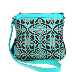 Montana West Maya Laser-Cut Crossbody Bag